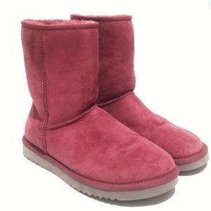 Ugg Mid Calf Booties Pink Size 9 W